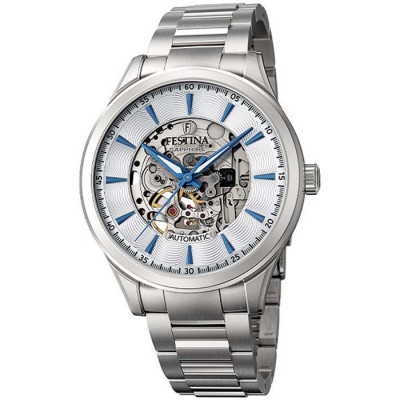 FESTINA SKELETON AUTOMATIC 42.8MM MEN`S WATCH F20536/1