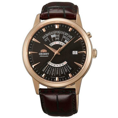 ORIENT MULTI-YEAR CALENDAR 42 MM MEN'S WATCH FEU0A001TH