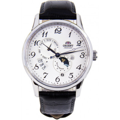 ORIENT CLASSIC AUTOMATIC SUN AND MOON 43MM MEN'S WATCH RA-AK0003S