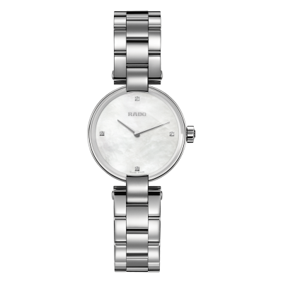 RADO COUPOLE DIAMONDS  QUARTZ  27MM LADIES  WATCH   R22854933