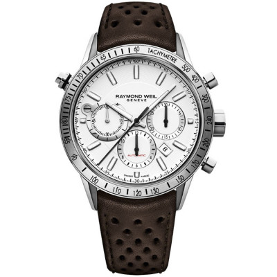 RAYMOND WEIL FREELANCER AUTOMATIC 43.5MM MEN'S WATCH  7740-STC-30001