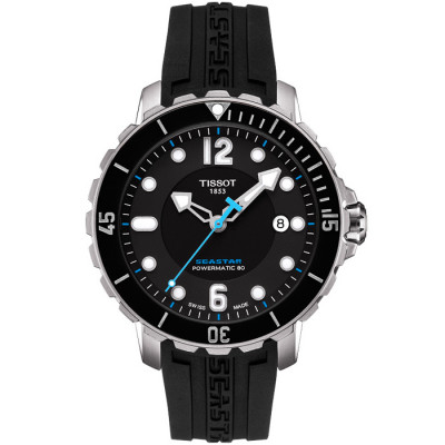 TISSOT SEASTAR 1000 POWERMATIC80 42MM MEN'S WATCH T066.407.17.057.02