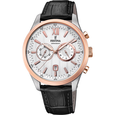 FESTINA CHRONOGRAPH 44MM MEN`S WATCH F16997/1