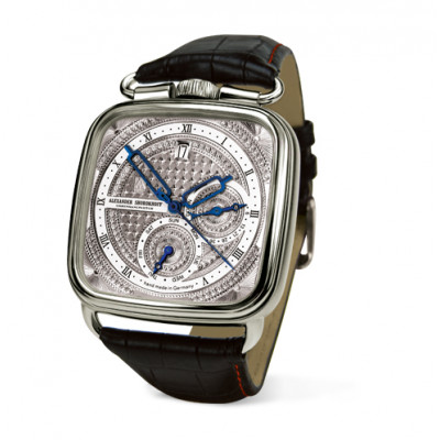ALEXANDER SHOROKHOFF FEDOR DOSTOEVSKY UNIQUE AUTOMATIC  43x43MM MEN'S WATCH LIMITED EDITION 25 PIECES AS.FD.D4A