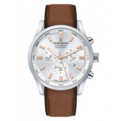 CLAUDE BERNARD AQUARIDER CHRONO 44MM. MEN'S WATCH 10222 3C AIR