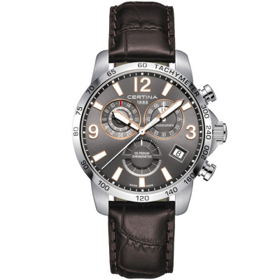 CERTINA DS PODIUM CHRONO GMT 42MM MEN'S WATCH C034.654.16.087.01