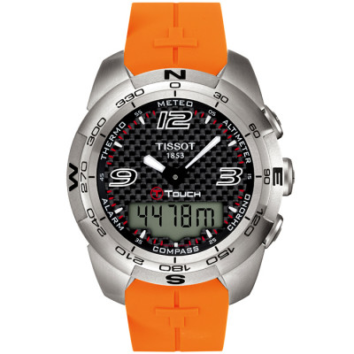 TISSOT T-TOUCH EXPERT 43.6MM MEN'S WATCH T013.420.17.207.00
