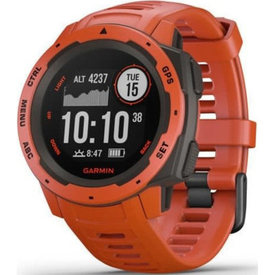 GARMIN INSTINCT™ FLAME RED 45MM 010-02064-02