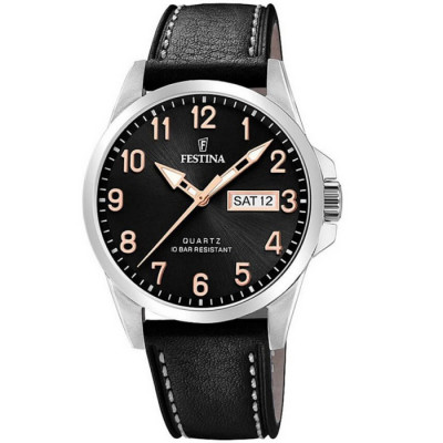 FESTINA CLASSIC 45MM  MEN`S WATCH F20358/D