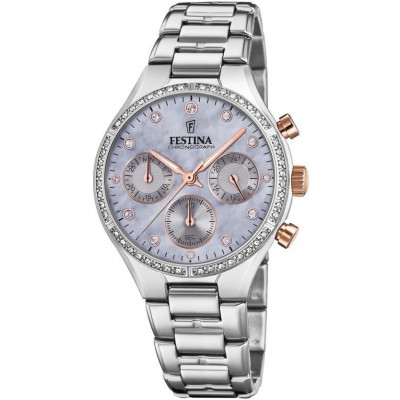 FESTINA CHRONOGRAPH 36MM LADIES WATCH F20401/3