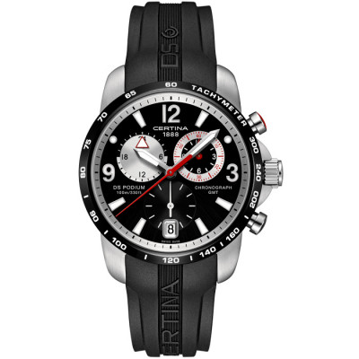 CERTINA DS PODIUM CHRONO GMT 42MM MEN'S WATCH C001.639.27.057.00