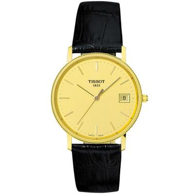 TISSOT T-GOLD GOLDRUN QUARTZ 33.5ММ MEN'S WATCH  T71.3.412.21