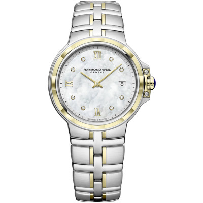 RAYMOND WEIL PARSIFAL 30MM LADIES WATCH  5180-STP-00995