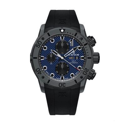 EDOX CLASS-1 CHRONOGRAPH AUTOMATIC 45MM MEN'S WATCH 01125 CLNGN BUNN