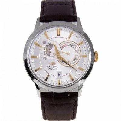 ORIENT CLASSIC AUTOMATIC SUN AND MOON 42ММ MEN'S WATCH FET0P004W