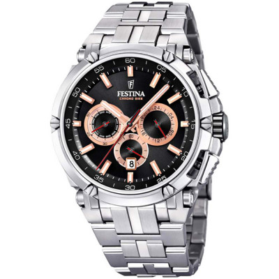 FESTINA CHRONO BIKE 44MM MEN`S WATCH  F20327/8