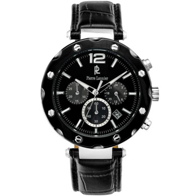 PIERRE LANNIER ELEGANCE CHRONO 42MM MEN'S WATCH  273D133