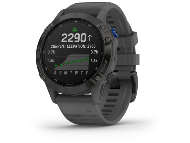 GARMIN FENIX 6S PRO SOLAR BLACK 42MM 010-02410-11