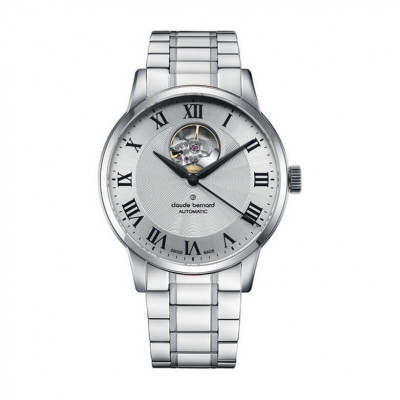 CLAUDE BERNARD AUTOMATIC OPEN HEART 41MM MEN'S WATCH 85017 3M2 AR
