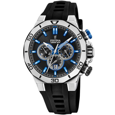 FESTINA CHRONO BIKE 44MM MEN`S WATCH F20449/2