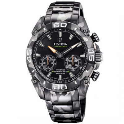FESTINA CHRONO BIKE SPECIAL EDITION CONNECTED 45.5MM MEN`S WATCH F20545/1