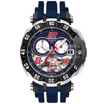 TISSOT T-RACE NICKY HAYDEN  45.25 MM MEN'S WATCH LIMITED EDITION  4999PIECES  T092.417.27.057.03