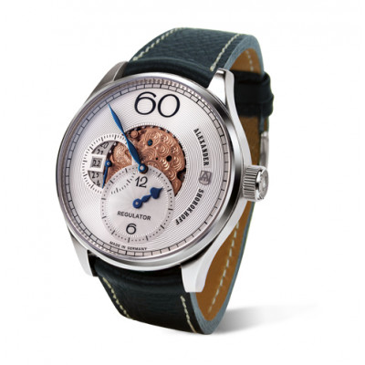 ALEXANDER SHOROKHOFF AVANTGARDE REGULATOR  MANUAL 43.5MM MEN'S WATCH LIMITED EDITION 98PIECES  AS.R02-1