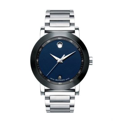 MOVADO MUSEUM SPORT  QUARTZ 42MM MEN'S WATCH 607004