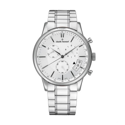 CLAUDE BERNARD CLASSIC CHRONO 42MM MEN'S WATCH 01002 3M2 AIN