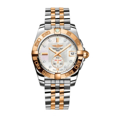BREITLING  GALACTIC 36 AUTOMATIC LADIES WATCH C3733012/A725/376