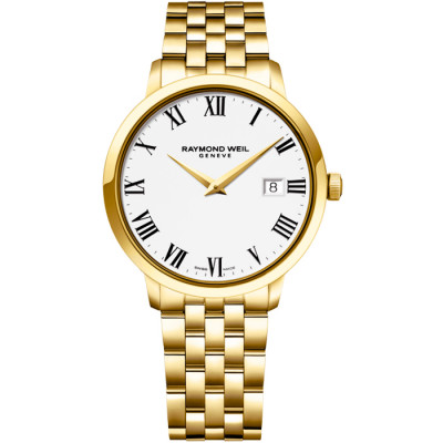 RAYMOND WEIL TOCCATA QUARTZ 39MM MEN'S WATCH 5488-P-00300
