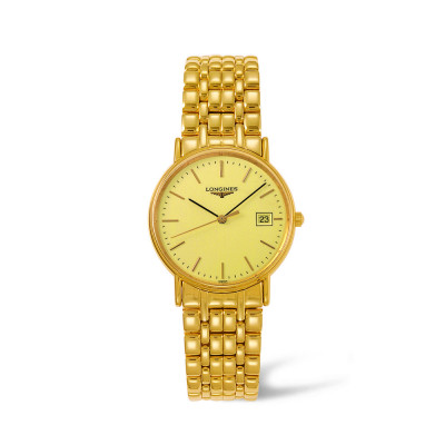 LONGINES PRESENCE QUARTZ 33MM LADIES WATCH  L4.720.2.32.8