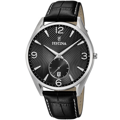 FESTINA RETRO 41 MM MEN`S WATCH F6857/A