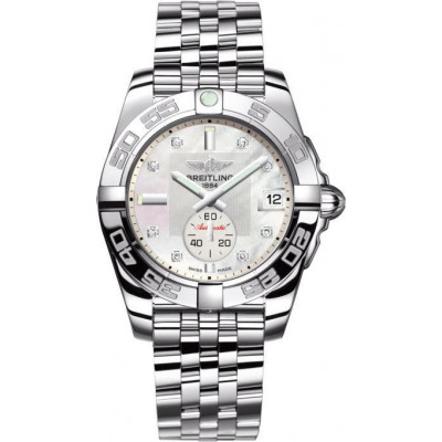 BREITLING GALACTIC 36 AUTOMATIC LADIES WATCH A37330121A1A1