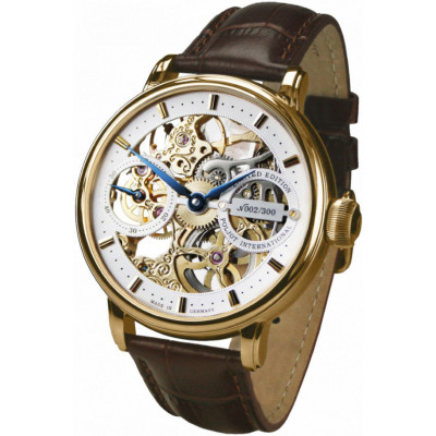 POLJOT INTERNATIONAL NIKOLAI II HAND WINDING 43 MM MEN'S WATCH LIMITED EDITION 300 PIECES 9211.1941613