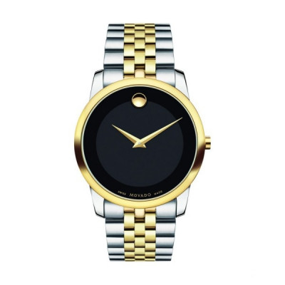 MOVADO MUSEUM QUARTZ 40MM MEN'S WATCH 606605