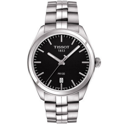 TISSOT PR 100 QUARTZ 39MM MEN'S WATCH T101.410.11.051.00