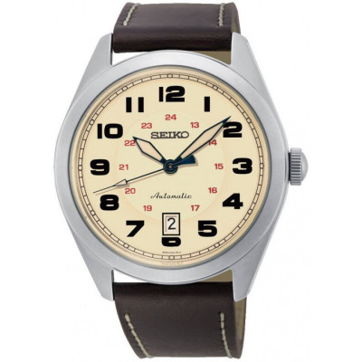 SEIKO MECHANICAL 43MM MEN'S WATCH SRPC87K1