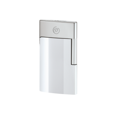 ЗАПАЛКА S.T.DUPONT E-SLIM CHROME WHITE 27003E