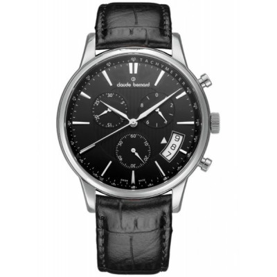 CLAUDE BERNARD CLASSIC CHRONO 42MM. MEN'S WATCH 01002 3 NIN