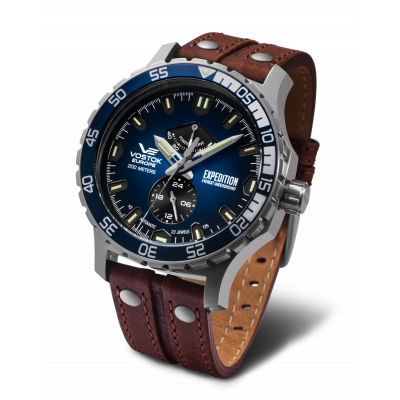 VOSTOK EUROPE EVEREST EXPEDITION AUTOMATIC 48MM MEN'S WATCH YN84-597A545