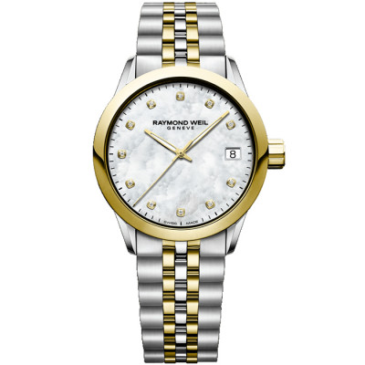 RAYMOND WEIL TOCCATA 34MM LADIES WATCH 5634-STP-97081