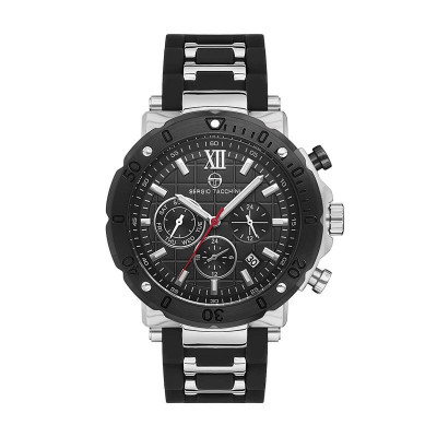 SERGIO TACCHINI HERITECH DUAL TIME 45MM MEN`S WATCH  ST.18.102.01
