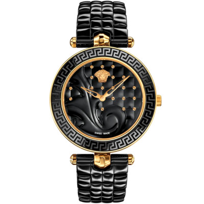VERSACE VANITAS CERAMIC 40MM LADIES  WATCH VAO04 0016