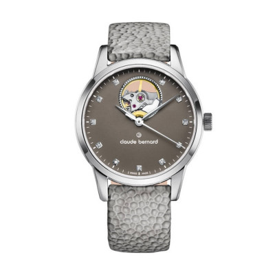 CLAUDE BERNARD AUTOMATIC OPEN HEART 35MM LADIES WATCH 85018 3 TAPN1
