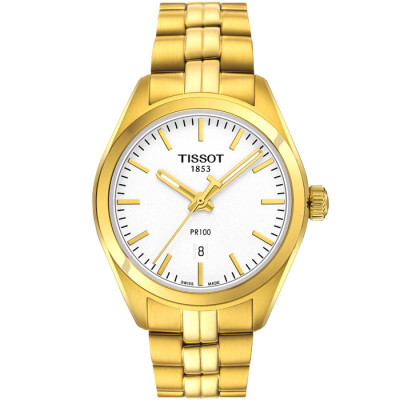 TISSOT PR100 QUARTZ  33MM LADIES  WATCH   T101.210.33.031.00