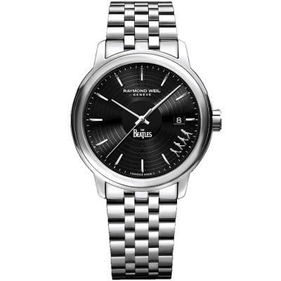 RAYMOND WEIL THE BEATLES '' ABBEY ROAD'' AUTOMATIC 40MM MEN'S WATCH LIMITED EDITION 3000PCS 2237-ST-BEAT2