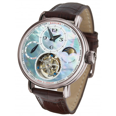 POLJOT INTERNATIONAL TOURBILLON POWER RESERVE HAND WINDING 43MM MEN'S WATCH LIMITED EDITION 100PIECES  3340.T12