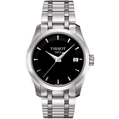 TISSOT COUTURIER QUARTZ 32MM LADIES WATCH  T035.210.11.051.00