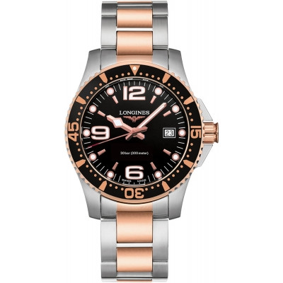 LONGINES HYDROCONQUEST QUARTZ 41MM MEN'S WATCH L3.740.3.58.7